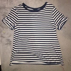 Wild Fable Blue Striped Tee